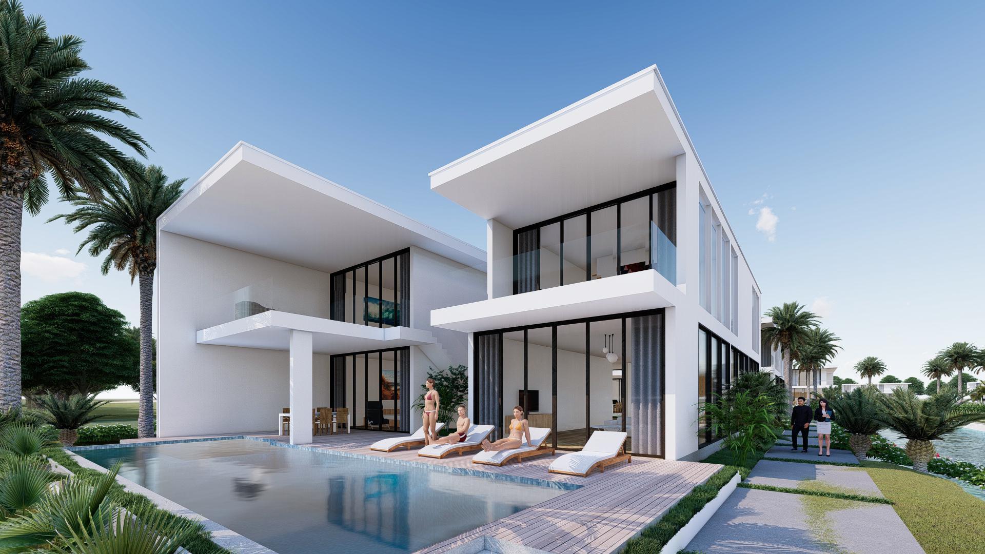 Phối cảnh villa
