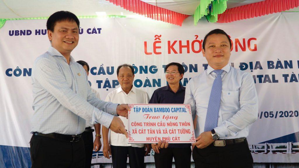 Khởi công 2 cây cầu thuộc chương trình Cầu Nông thôn tại Bình Định